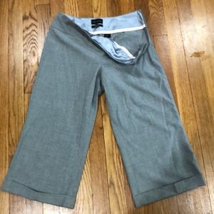 Limited Cassidy fit gray cropped pants